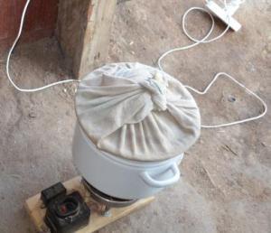 центрифуга для отшелушивания зерна